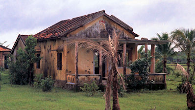 Destroyed House Outside Hue