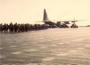 Marines loading in C123 Quang Tri
