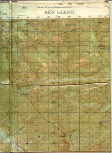 Ben Giang map of Taylor Common 1968-69